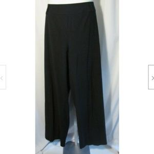 Talbots Navy Blue Classic Fit Side Zip Trousers